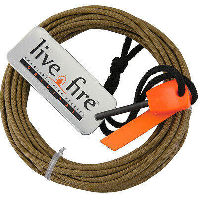 Live Fire Ring O Fire Coyote Brown