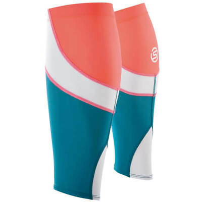 Skins Essentials Unisex MX Compression Calf Tights Medium Sky Blue