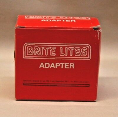 NOS or Pre-Owned Department 56 BRITE LITES Adapter