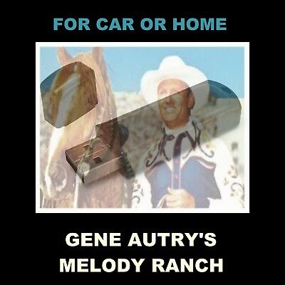 Gene Autry's Melody Ranch. Enjoy 79 Old Time Radio Shows In Your Car Or Home!