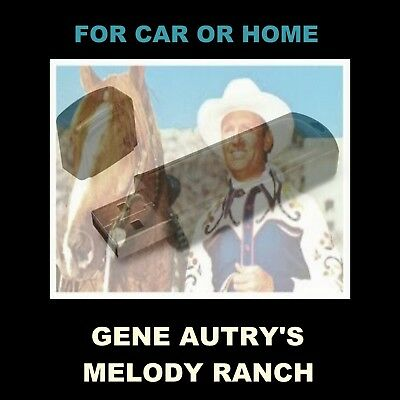 Gene Autry's Melody Ranch. Enjoy 83 Old Time Radio Shows In Your Car Or Home!