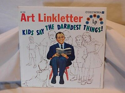 "Art Linkletter ""kids Say The Darndest Things!"" Lp/record Hl-7152"