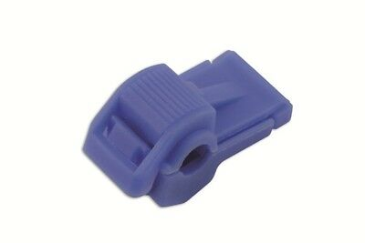 Wiring Connectors - Blue - T-Tap - 1.5mm-2.0mm - Pack Of 100