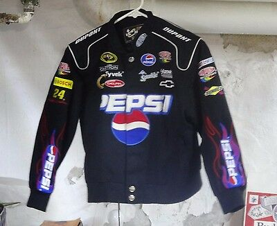 ^Ba CHASE AUTHENTIC JEFF GORDAN #24 JHD MOTOR SPORTS PEPSI DUPONT YOUTH L