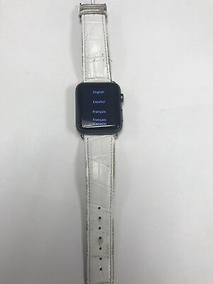 Apple Watch Sport 42mm 1st Gen 7000 Series Smartwatch *AS IS* LOCKED