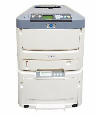iSys iTerra Elite II Color LED Printer N31195A N31194A Well Mud Logging w/ Toner