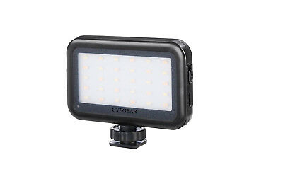 GVB On camera light Mini LED Video Light with USB Charge Port for
