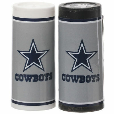 Gameday Greats Dallas Cowboys Salt and Pepper Shakers Plastic