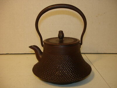 Vintage Japanese One Cup Cast Iron Teapot...very Cool