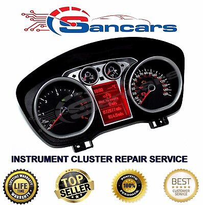 Ford Focus C-Max  Instrument Cluster  Repair Service