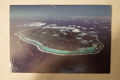Cook Island - Aerial View - Collectable - Postcard.