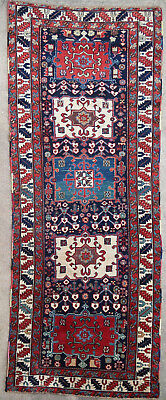 Tapis ancien antique rug Tribal Karaja Persan Oiental 1850