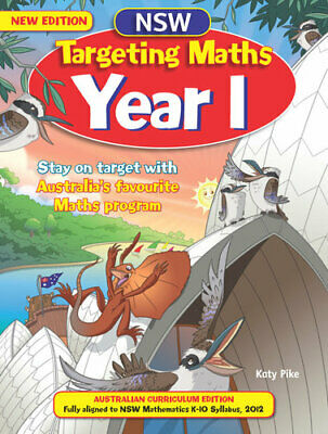 NEW NSW Targeting Maths Student Book : Year 1 By Katy Pike Paperback