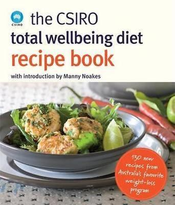 NEW The CSIRO Total Wellbeing Diet Recipe Book By CSIRO Paperback Free Shipping