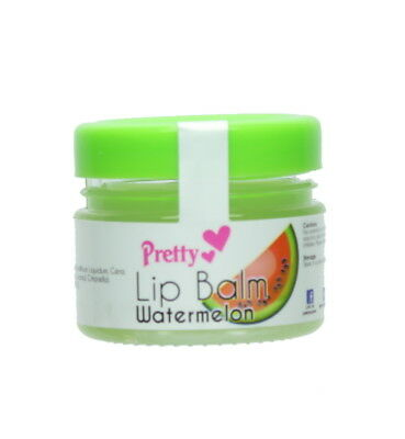 Pretty Lip Balm Pot 10g – Watermelon