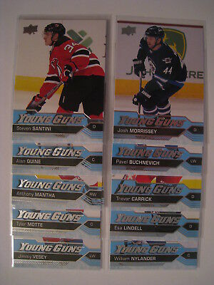 2016-17 Upper Deck Series 1 YOUNG GUNS ROOKIES - YOU PICK FROM THE LIST