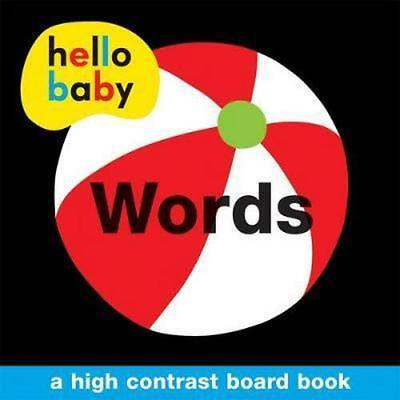 NEW Words By Roger Priddy Board Book Free Shipping