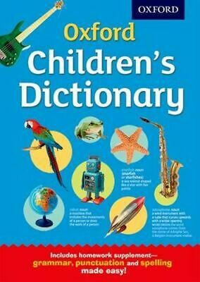 NEW Oxford Children's Dictionary By  Oxford Dictionaries Hardcover Free Shipping