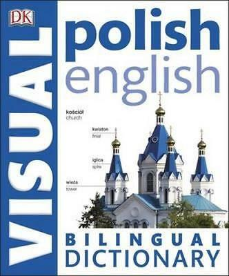 NEW Polish-English Bilingual Visual Dictionary By DK Paperback Free Shipping
