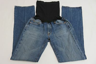 7 Seven For All Mankind Bootcut Maternity Jeans Size 31 Be Band Stretch