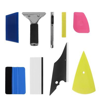 8in1 Squeegee Car Window Tinting Auto Film Install Wrapping Applicator Tools AL