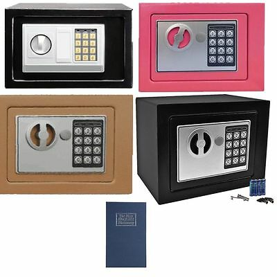 Digital Electronic Safe Safety Security Lock Box for Home & Office TN