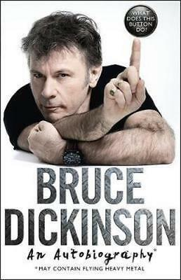 NEW What does this button do? By Bruce Dickinson Paperback Free Shipping