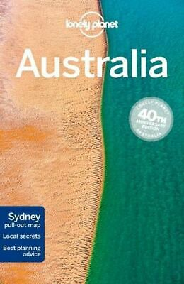 NEW Australia By Lonely Planet Travel Guide Paperback Free Shipping