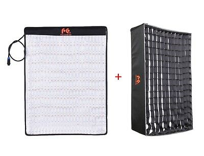 Falcon Eyes RX-18T/RX-18SBHC LED Video Light + Soft Box 5600K Rollable Flexible