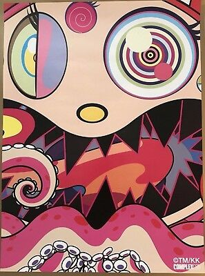 Takashi Murakami Complexcon 2017 Hungry Poster Print 18 x 24  ships in tube