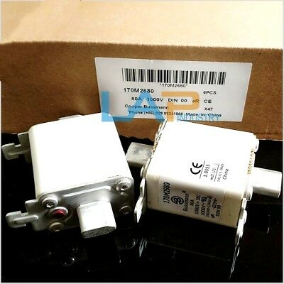 1PC NEW IN BOX For Bussmann 170M2680 Fuse 80 AMPS 1000 VOLTS #ZMI