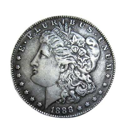Brass 1927 S Peace Silver Dollar Low Mintage Coin Collection Foreign Vintage Hot
