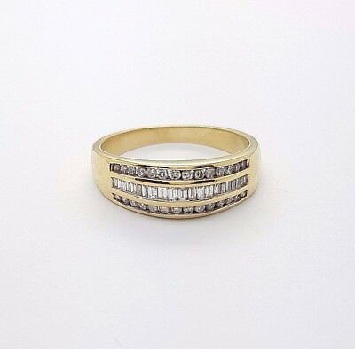 Ladies Ring 18ct (750, 18K) Michael Hill Yellow Gold 0.5ct Diamond Ring