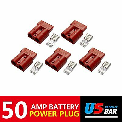 Electric Distribution Anti – leakage Industrial Standard Contact Plug 5pcs 50A