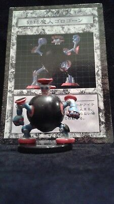 YUGIOH Dungeon Dice Monsters DDM - Japanese THUNDER BALL  figure & card lot