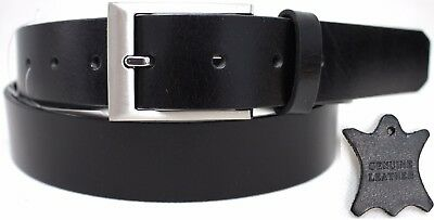 New Genuine Full Grain Leather Quality Men's Belt Australian Seller. Style 41016