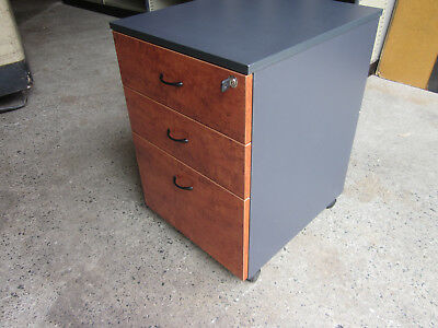 Second-hand Lockable Mobile Pedestal 682mm H x 467mm W x 530mm D many available