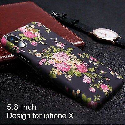 [Christmas Gift] Flower Matte Case  For Samsung Galaxy S8 S8 Plus & iPhone X 8 7