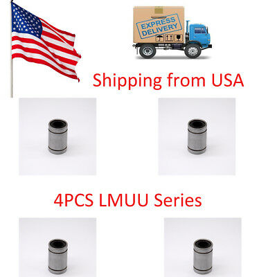 4pcs LM12UU 12mm Linear Ball Bearing Bush Bushing 3D Printer in USA