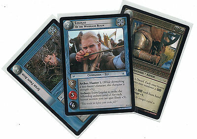 Lord of the Rings CCG The Hunters: 2x Rare Cards   freie Auswahl    Lot
