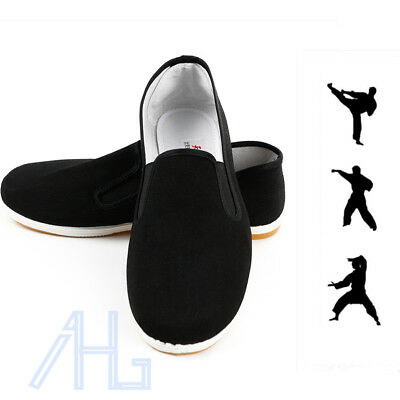 Kung Fu Shoes Rubber Sole Slippers Dancing Tai Chi Shoes Junior & Adults
