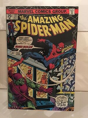 Amazing Spider-Man #  137  At the Mercy of the Goblin !