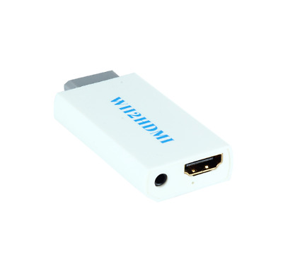 Wii to HDMI 480p Converter Adapter Wii2 hdmi 3.5mm Audio Wii-link ZSE
