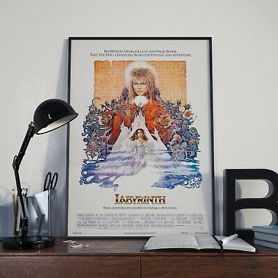 Labyrinth David Bowie Movie Film Poster Print Picture A3 A4