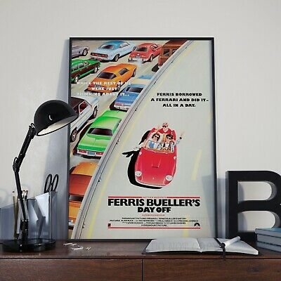 Ferris Bueller's Day Off Movie Film Cinema Print Poster Picture A3 A4