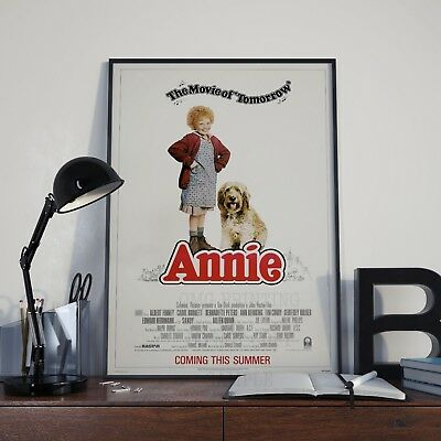 Annie Classic 80's Family  Movie Film Poster Print Picture A3 A4