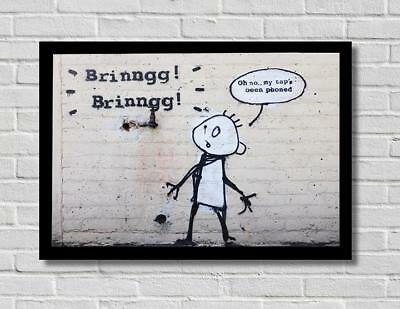 FUNNY POSTER Photo Picture Poster Print Art A0 A1 A2 A3 A4 AD500 BANKSY