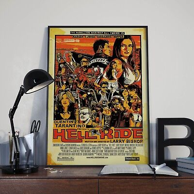 Quentin Tarantino Hellride Movie Film Print Poster Picture A3 A4 Posters