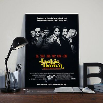 Tarantino's Jackie Brown Movie Film Poster Print Picture A3 A4 Gangster Posters