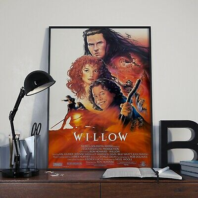 Willow Classic 80's  Fantasy Movie Film Poster Print Picture A3 A4